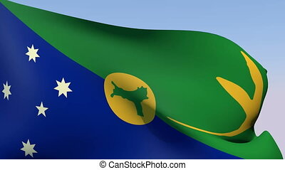 Flag of Christmas Island - Flags of the world collection -...
