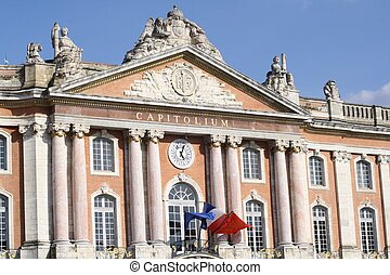 Capitole, Toulouse - The Capitole of Toulouse in France