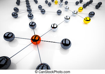 networking - An image of a nice networking illustration