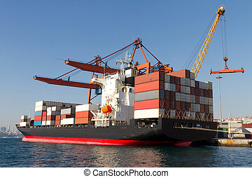Container Ship - container Ship