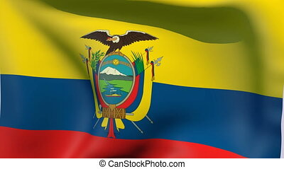 Flag of Ecuador - Flags of the world collection - Ecuador
