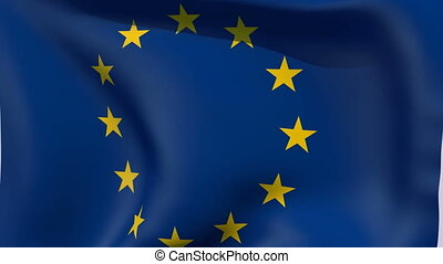 Flag of Europe - Flags of the world collection - Europe