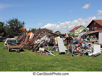 Scrap Metal - A big pile of all the different kinds of scrap...