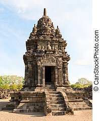 One of the many temple in Candi Sewu complex