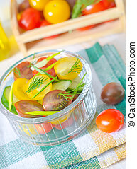 legumes, salada