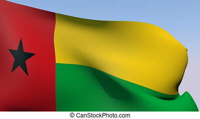 Flag of Guinea-Bissau - Flags of the world collection -...