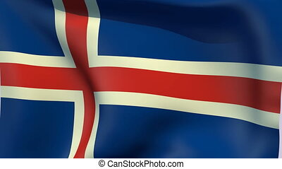 Flag of Iceland - Flags of the world collection - Iceland