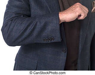 cropped image of a well dressed businessman - Cropped...