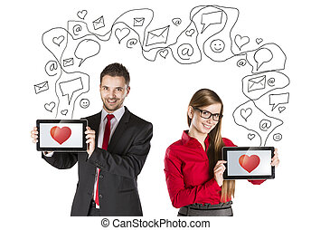 Internet love - Funny love in social media and internet...