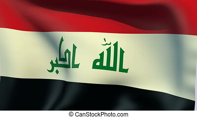 Flag of Iraq - Flags of the world collection - Iraq