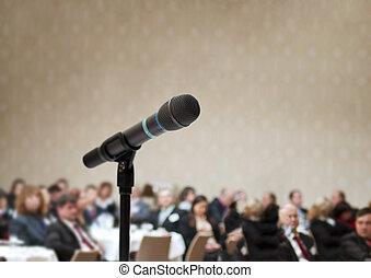 empresa / negocio, conferencia
