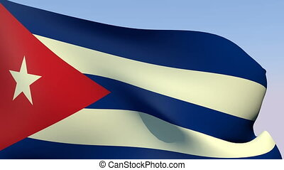 Flag of Cuba - Flags of the world collection - Cuba