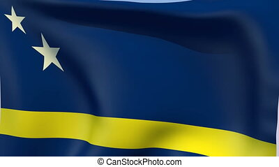 Flag of Curacao - Flags of the world collection - Curacao