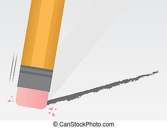 Pencil Erasing