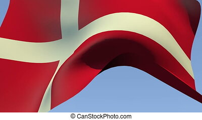 Flag of Denmark - Flags of the world collection - Denmark