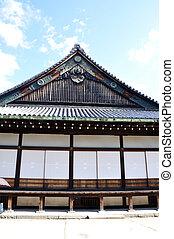 Nijo Castle was built in 1603 in Kyoto, Japan - Nijo Castle...