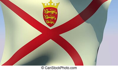 Flag of Jersey - Flags of the world collection - Jersey