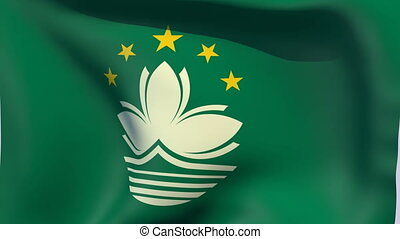 Flag of Macau - Flags of the world collection - Macau