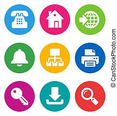 color web icons