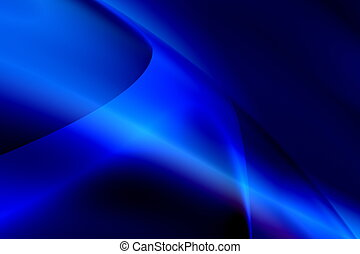 Abstract blue background - General purpose abstract dark...