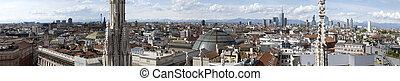 View of Milan