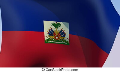 Flag of Haiti - Flags of the world collection - Haiti