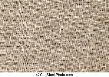 rough burlap texture, can be used as a background