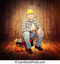 carpenter portrait