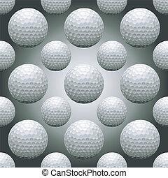 Seamless Golf Balls