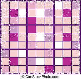 Retro squares background