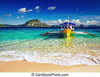 tropicais, praia, FILIPINAS