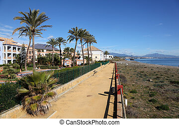Vacation homes on Costa del Sol, Andalusia Spain