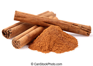 Cinnamon in closeup