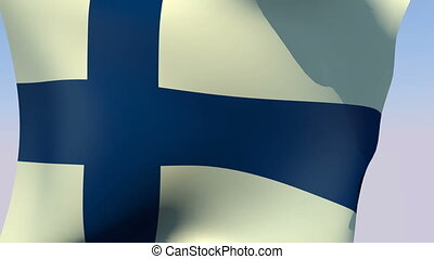 Flag of Finland - Flags of the world collection - Finland
