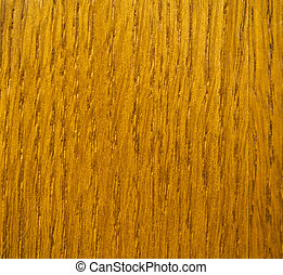 Wood veneer in teak effect showing grain
