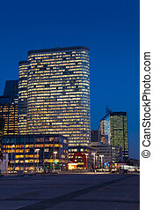 Buildings of La Defense, Paris, Ile de France, France