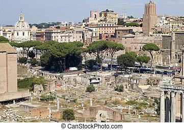View on Forum in Rome