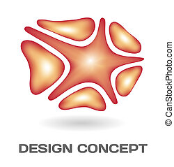 Abstract design concept