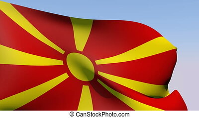 Flag of Macedonia - Flags of the world collection -...