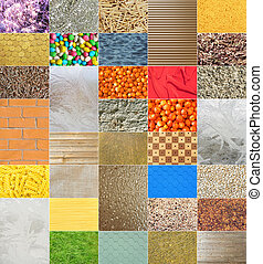 Set Of Backgrounds - Set From The Different Types Of...