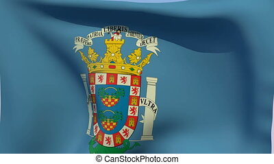Flag of Melilla - Flags of the world collection - Melilla