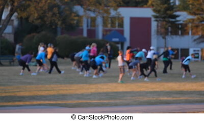 Sport exercises