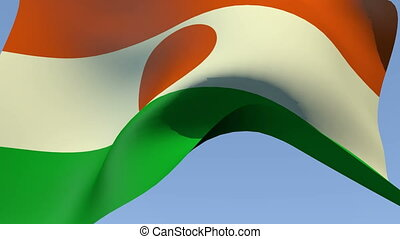Flag of Niger - Flags of the world collection - Niger