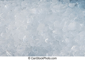 Ice pieces background - Background of ice pieces