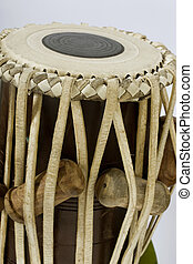 tabla on abstract background