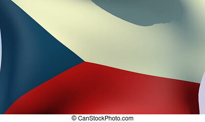 Flag of Czech Republic - Flags of the world collection -...