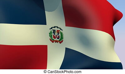 Flag of Dominican Republic - Flags of the world collection -...