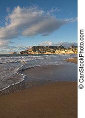 Calpe beach