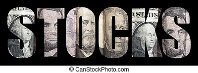 Economy Stocks - Economy Related Text and Images of Currency