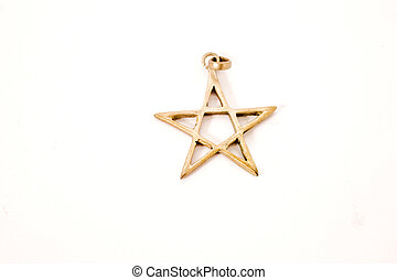 star of david - star of David on isolated background